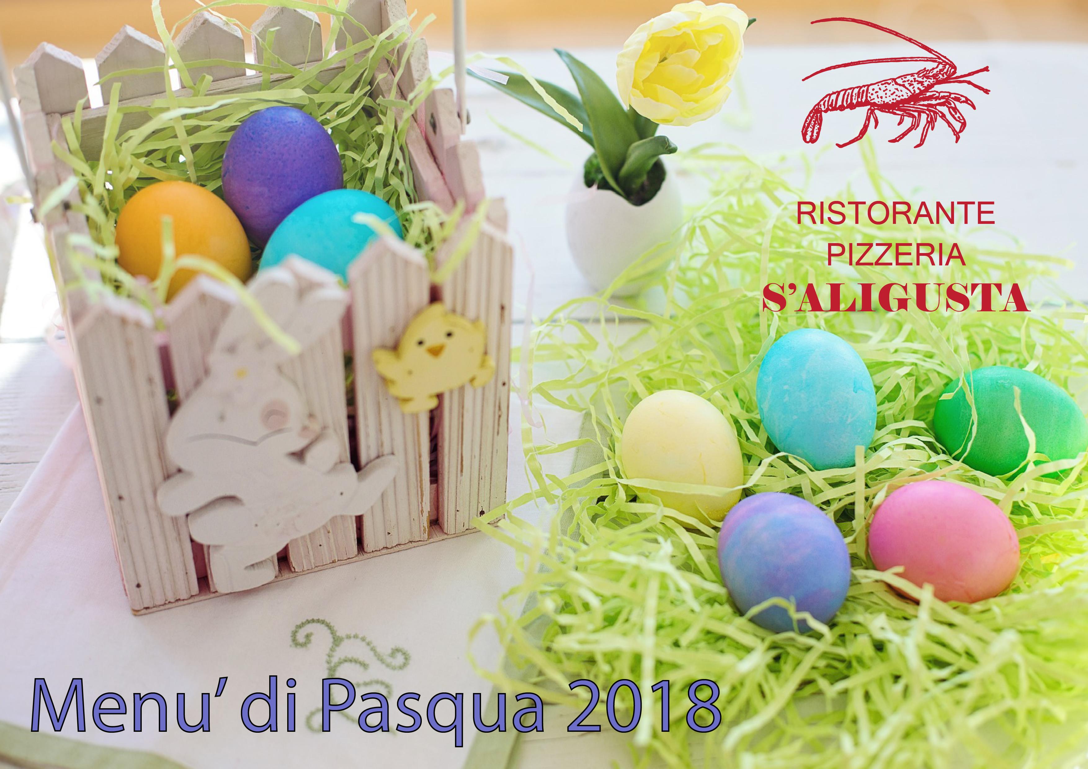 Buona Pasqua Saligusta