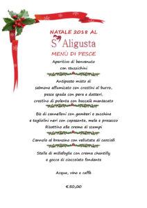 Pranzo di Natale al S'Aligusta a Padova
